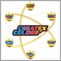 Createx Colors Distribution Logo